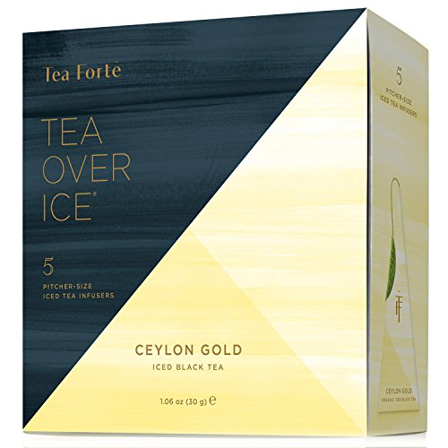 Tea Forte Iced Ceylon Gold TEA OVER ICE, Pitcher-Size Iced B