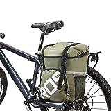 Roswheel 14891 Water Resistant Bike Panniers Bicycle Side Bags 15L Capacity Bike Rack Pack