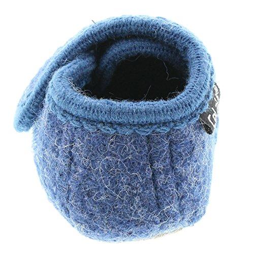Celavi Patucos para bebé unisex de lana, 100% lana, 5712 Azul