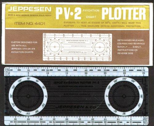 Jeppesen PV-2 Avigation Chart Plotter 1967
