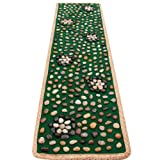 EliteShine Pebbles Cobblestone Foot Massage Mat Walkway Christmas Gift for Daddy New Year Gift for Mom Health Caring Tool