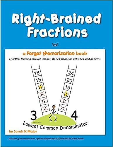 Amazon.com: Right-Brained Fractions (9781936981977): Sarah K Major ...