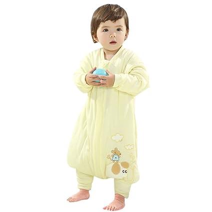freahap Unisex – Saco de dormir para bebé con patas Mangas Colores Elección de Tamaño algodón
