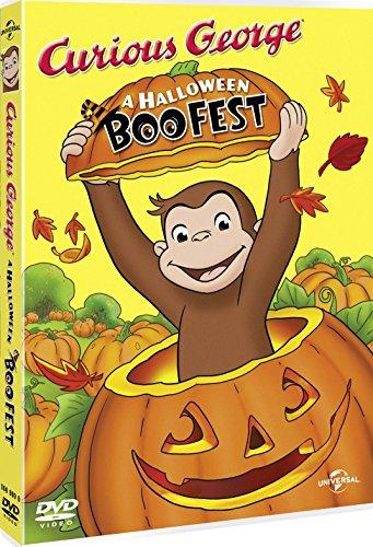 Curious George: A Halloween Boo Fest  [DVD] -