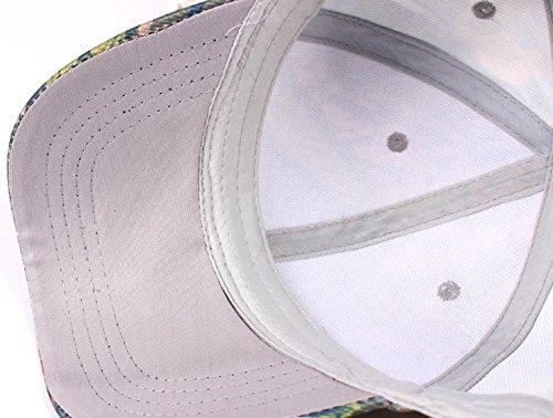 4 di di che un'escursione del del unisex cotone camuffamento stile fa viaggio Primavera berretto cappello regolabile per sportiva del lo Berretto del da pesca baseball escursione q1wff4g