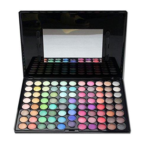 KRABICE Eyeshadow Palette,Bold and Bright Collection, Vivid,Eyeshadow Eye Shadow Palette Makeup Kit Set(88 Eyeshadow Palette) - Pattern 1