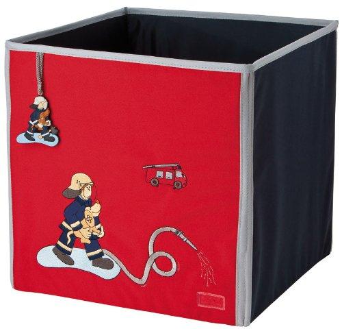 sigikid 23549 - aufbewahrungsbox, rooms frido firefighter: amazon ... - Kinderzimmer Deko Feuerwehr
