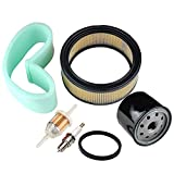 #7: 47 883 03-S1 47-083-03-S1 Air Filter + Oil / Fuel Filter Spark Plug for Kohler CH18 CH20 CH22 CH23 CH25 CV17 CV18 CV19 CV20 CV22 CV22S CV23 Engine Lawn Mower