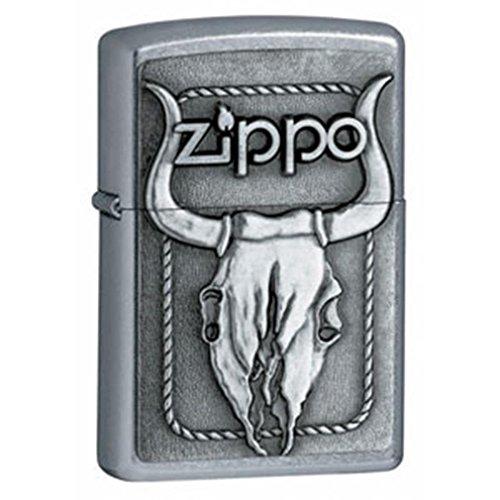 Bull Skull Zippo Lighter - Zippo Bull Skull Windproof Lighter