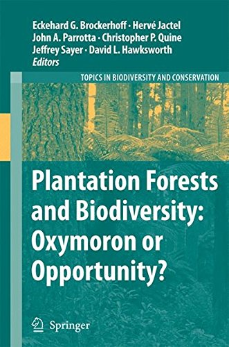 Plantation Forests and Biodiversity: Oxymoron or Opportunity? (Topics in Biodiversity and Conservation)
