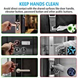 SAFEKEY 99.9% Antimicrobial COPPER No Touch Door