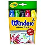 Crayola Window Crayon 5-Color Set (52-9765)
