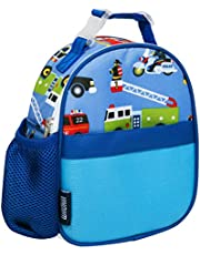 Wildkin Kids Insulated Clip-in Lunch Box Bag for Boys and Girls