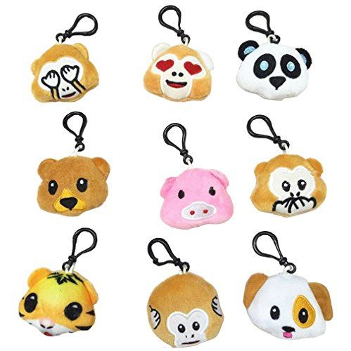 Zoo Animal Keychain - 6