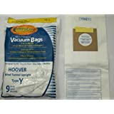 Hoover Part#4010100Y - Type Y Vacuum Bag ((45) Bags)