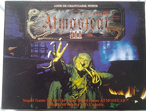 Atmosfear III: Anne de Chantraine - Witch. VHS Sequel to Atmosfear by Spears Games: Amazon.es: Juguetes y juegos
