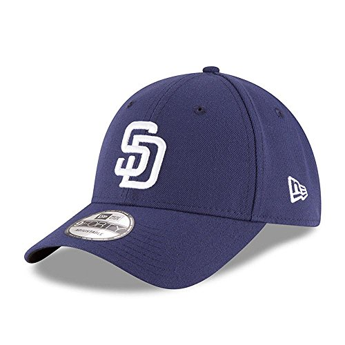 Baseball Mlb Hat - New Era 9Forty The League San Diego Padres Game 2017 Hat (Light Navy) MLB Cap