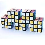 CubeTwist Siamese 5 - 3x3x3 Black Quintuple Conjoint Puzzle Cube Twisty Puzzle 3x3