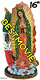 16 Inch Our Lady of Guadalupe Virgen de Guadalupe with Mexican Flag Statue