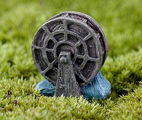 LMKIJN DIY Micro Bricolaje Paisaje en Miniatura Ruedas hidráulicas para bonsái pecera decoración de Bricolaje: Amazon.es: Hogar