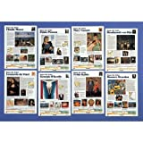 American Educational Products CP6110,''Know The Artist'' Set (First), Pack of 5 pcs