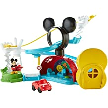Fisher-Price Disney Mickey Mouse Clubhouse, Zip, Slide and Zoom Clubhouse