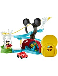 Fisher-Price Disney Mickey Mouse Clubhouse, Zip, Slide and Zoom Clubhouse BOBEBE Online Baby Store From New York to Miami and Los Angeles