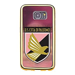 Hot Classical Unione?Sportiva?Citta?di?Palermo Phone Case Football Club?Palermo Logo Customised Protective Phone Case for Samsung Galaxy S6 Edge
