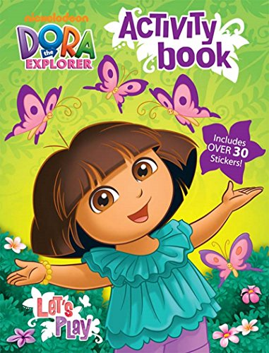 Bendon Dora The Explorer 32-Page Let's Play Coloring and Activity Book with Stickers ()