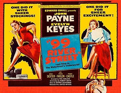 Amazon.com: 99 River Street - 1953 - Movie Poster Magnet: Kitchen ...