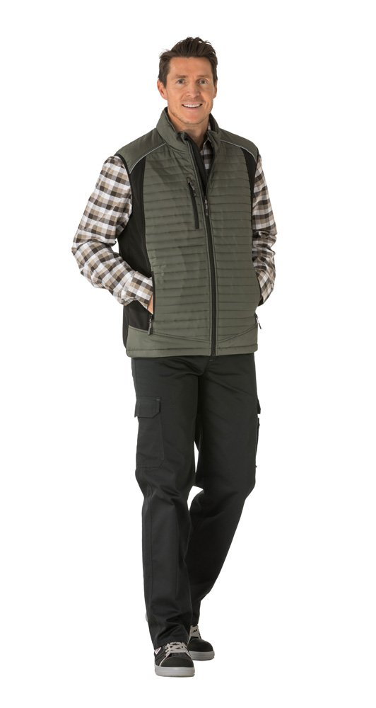 Small Green//Black Planam 3675044Outdoor Protective Air Vest