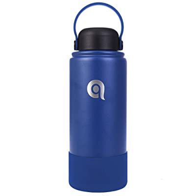 qottle Stainless Steel Water Bottle with Straw ...
