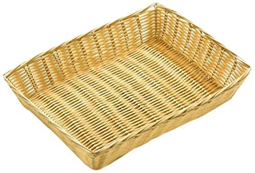 20 cm x 30 cm x 6 cm//12 x 8 Zodiac RB10 Rattan Basket Recto