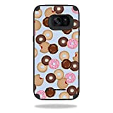 Skin Compatible with Mophie Juice Pack Samsung Galaxy S7 Edge Case - Donut Binge | MightySkins Protective, Durable, and Unique Vinyl wrap Cover | Easy to Apply, Remove | Made in The USA