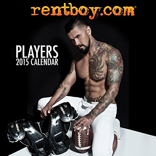 Rentboy.com Players 2015 Mini Wall - Wall Player Calendar