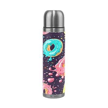 Amazon.com: JOKERR Donuts - Botella de agua de chocolate ...