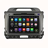 Witson Double Din Car DVD for KIA Sportage R (2010-2012) Android 7.1 GPS Navigation Bluetooth Wifi 8 inch Touch Screen Radio Mode Iphone/ipod