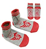 TUKA Anti-Slip Baby Socks Kids Socks Girls Boys, No Slip Socks, Unisex Socks with Anti Skip ABS Grip for Home, Body...