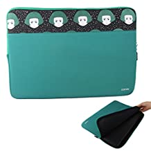 Conze 10inch Tablet Sleeve Water-resistant Protective Case Pouch Cover/Briefcase Carrying Bag Compatible with Lenovo Yoga Tab 3 Plus/TAB3 10/Tab 2 A10-70/YogaBook/Yoga 300 in Peacock Green