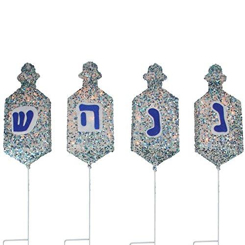 Outdoor Hanukkah Lights in US - 7