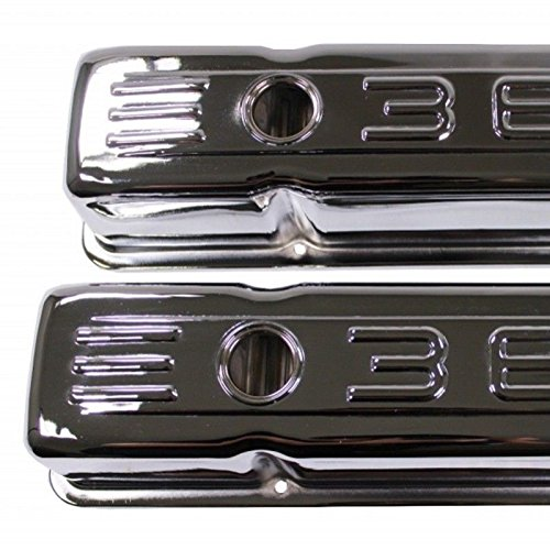 Steel Valve Covers for 58-86 SBC Chevy Small Block 283 305 327 Chrome Tall C.I.D