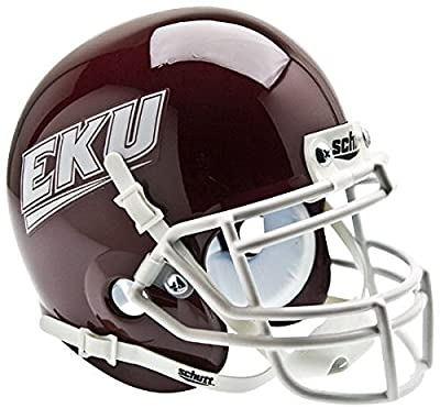 Eastern Kentucky Colonels Mini Authentic Helmet Schutt - NCAA College Football Licensed - Eastern Kentucky Colonels Collectibles