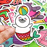 Waterproof Cute Vinyl Stickers Pack for Water