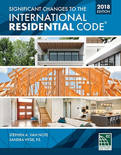 Significant Changes to the International Residential Code 2018 Edition by Cengage Learning (Image #1)