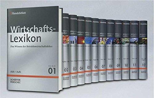 Wirtschafts-Lexikon: Das Wissen der Betriebswirtschaftslehre 12 Bände