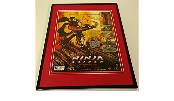 Ninja Gaiden 2004 Xbox Framed 11x14 ORIGINAL Vintage ...