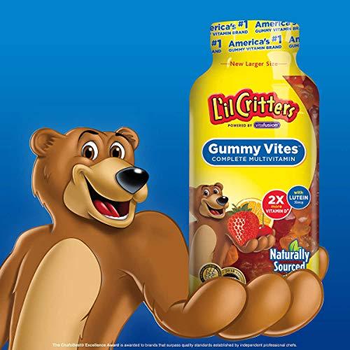 Lil Critters Gummy VITES Multivitamínico completo, 300 gomitas