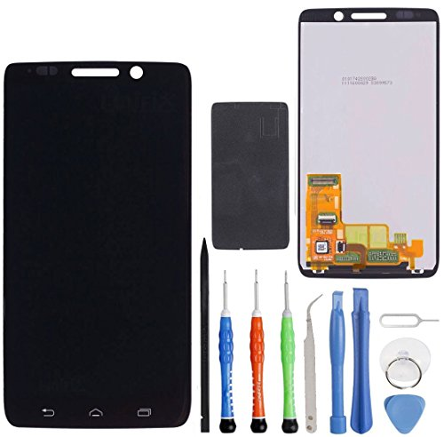 Unifix LCD Display Touch Screen Glass Digitizer Assembly Replacement Part for Motorola Droid Mini XT1030 + Repair Toolkit