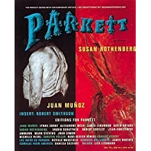 Parkett No Susan Rothenberg Juan Muno (Parkett art magazine series) by Parkett (1995) Paperback