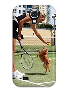 Durable Maria Sharapova Hd Back Case/cover For Galaxy S4 by mcsharks